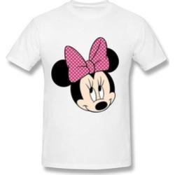 Minnie T Shirt For Men O-Neck White