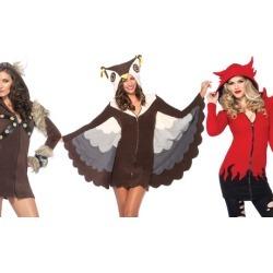 Leg Avenue Cozy Fleece Viking, Owl, or Devil Costumes