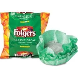 Folgers Coffee Filter Packs, Decaffeinated Classic Roast
