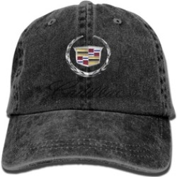 Cadillac Logo Baseball Cap Hats Black found on Bargain Bro Philippines from groupon for $9.99