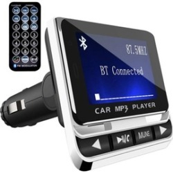Bluetooth FM Transmitter for Car Wireless Radio Adapter