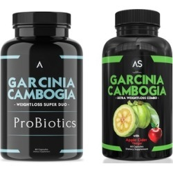 Angry Supplements ProBiotics with Garcinia plus Garcinia with Apple Cider Vinegar