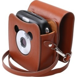 For Fujifilm Instax Square SQ10 Camera PU Leather Case Bag with Adjustable Strap