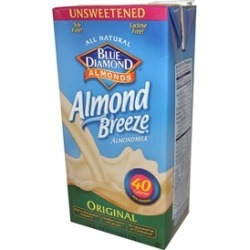 Almond Breeze Original Unsweetened ( 8 - 64 oz bottles )