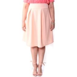Xehar Women's Plus Size High Waist Skirt