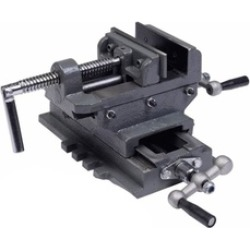 "Heavy Duty 4"" Cross Drill Press Vise X-Y Clamp Machine"