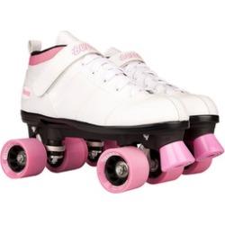 Chicago Skates B-100W-08 Ladies Bullet Skate Size 8 - White