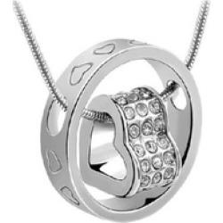 Rhinestone Heart Bridal Wedding Jewellery