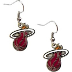 Sports Team Logo Miami Heat Dangle Logo Earring Set NBA Charm
