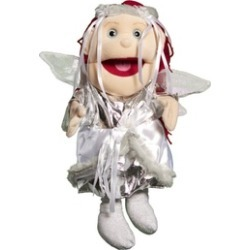 Sunny Toys GL3808 14 In. Fairy - Winter, Glove Puppet