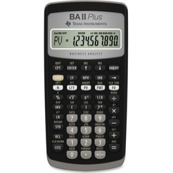 Texas Instruments BA 2nd Plus Financial Calculator