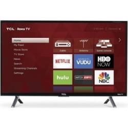 TCL 43-Inch 120Hz HDR Roku Smart 4K (2160p) LED TV - Recertified