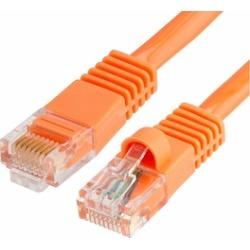 Cmple - RJ45 CAT5 CAT5E ETHERNET LAN NETWORK CABLE -75 FT Orange