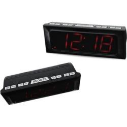 AM/FM Digital Clock Radio Dual Alarm with Large LED Display