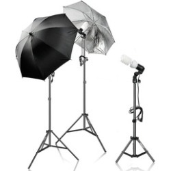 600W Photography Light Photo Video Studio Umbrella Lighting Kit