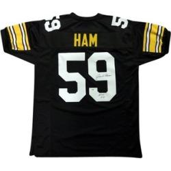 Autographed Jack Ham Pittsburgh Steelers Custom Jersey