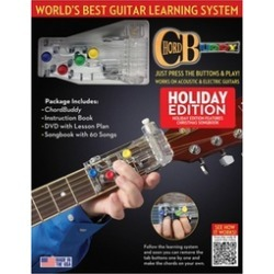 ChordBuddy Guitar Learning System - Holiday Edition