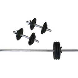 Amber Sporting Goods RS-110 Regular 110lb Weight Set
