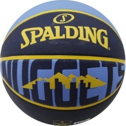 Spalding Basketball Size 7 Denver Nuggets Rubber
