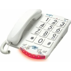 Clarity CLARITY-JV-35W Amplified Big Button Phone White Keys found on Bargain Bro India from groupon for $95.44