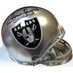 Autographed Howie Long Oakland Raiders Mini Helmet