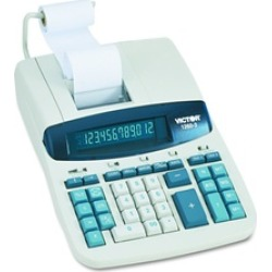Victor Technology 1260-3 12 Digit Commercial Printing Calculator