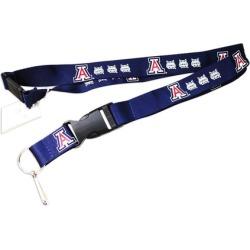 Sports Team Logo Clip Lanyard Keychain Id Ticket Holder NCAA