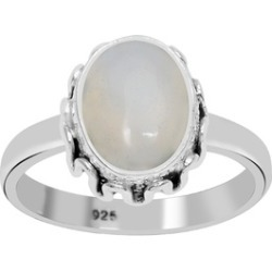 Orchid Jewelry 925 Sterling Silver 2 Carat Opal Ring