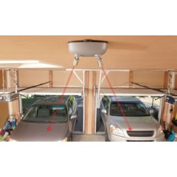 MAXSA Park Right Battery Powered Dual Garage Laser Parking Guide