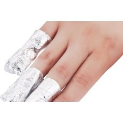 Foil Wrap Nail Polish Remover (100-Pack) found on MODAPINS from groupon for USD $8.99