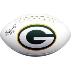 Autographed Paul Hornung Green Bay Packers White Logo Football