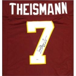 Autographed Joe Theismann Washington Redskins Custom Jersey