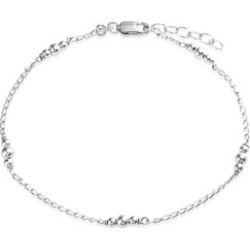 BEST BUY Bling Jewelry Ankle Bracelet 925 Silver Ball Jewelry Beaded Anklet