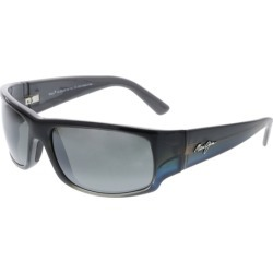 Maui Jim Men's Polarized World Cup 266-03F Grey Rectangle Sunglasses