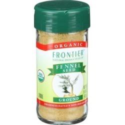 Organic Ground Fennel Seed ( 4 - 1.6 oz bottles )