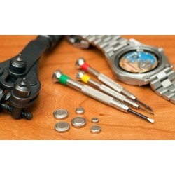 One or Two Watch Batteries at ER Electronics Repair Point (Up to 58% Off)