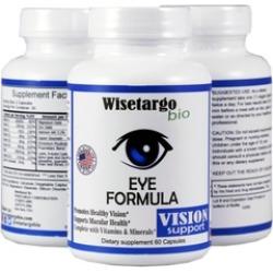 3 pc Wisetargo Bio Eye Formula Vitamins for eyesight Made In USA