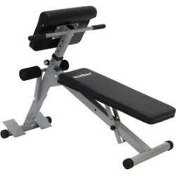 Sit up Bench Adjustable Workout Abdominal Exercise Bench Board, Black