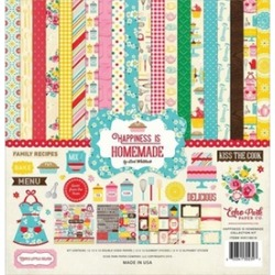 Echo Park Paper HIH18016 12 x 12 in. Echo Park Collection Kit - Happiness Is Hom