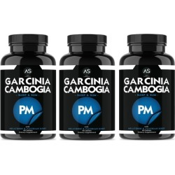 Angry Supplements Garcinia Cambogia PM Weight-Loss and Appetite Suppressant Supplement for Night