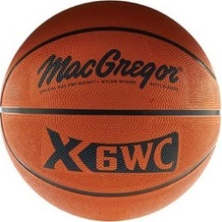 "MacGregor Official Size (29.5"") Rubber Basketball"