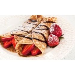 Food at Fire Truck Crepes (Up to 30% Off). Two Options Available.
