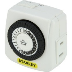 Stanley LampMaster Mini Indoor 1-Outlet Polarized 24 Hour Timer