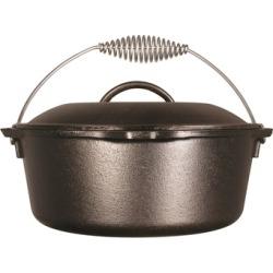 Lodge Cast Iron Dutch Oven, Pre-Seasoned, 5-Quart