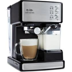 Mr. Coffee Café Barista Premium Espresso Cappuccino System Silver