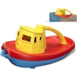 Green Toys 1203876 Green Toys Tugboat with Yellow top