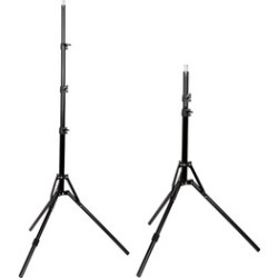 2pcs 2m Photography Studio adjustable Light Stand Reflexed Light Stand