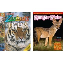 One Year Subscription to Ranger Rick and/or Ranger Rick Zoobooks Magazines (Up...