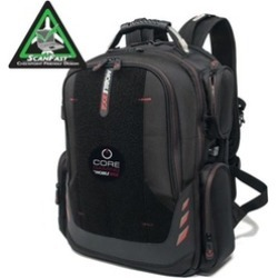 Mobile Edge MECGBPV1 Core Gaming Backpack w/Velcro Panel 18""