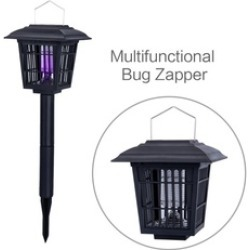 Solar-Powered Outdoor Insect Killer